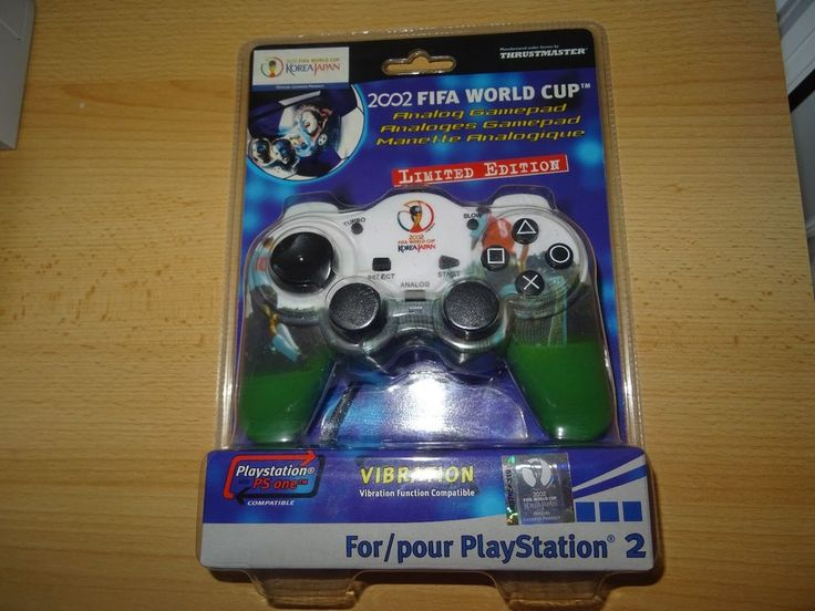 PS2 Playstation 2 Controller Thrustmaster 2002 Fifa World Cup  new sealed   | eBay