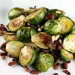Sauteed Brussels Sprouts and Pancetta | Tapas | Pinterest