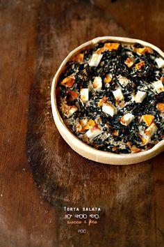 #Torta #salata con cavolo nero #zucca e feta #food #foodie #italian