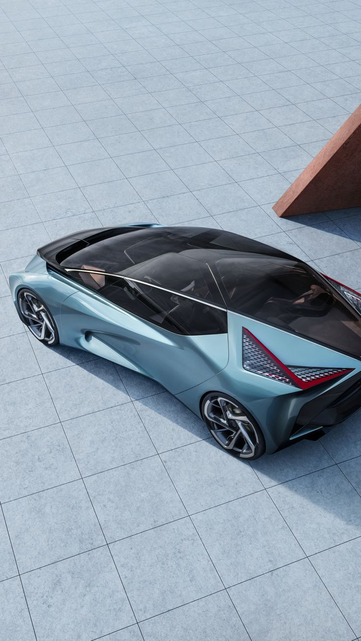 1440x2560 Topview, Lexus LF30, electric car, 2019