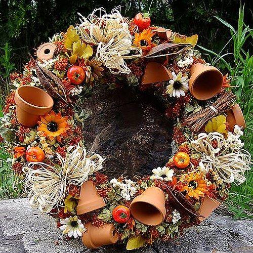 Věnec  celoroční - Květníčkový zahradníček