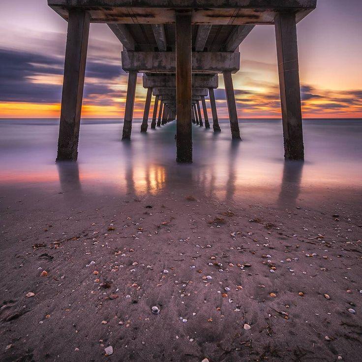 Here is a long exposure shot under the Juno Beach Pier before the sun came up... #junobeachpier #junobeachpark #junobeach #florida #southflorida #treasurecoast #coast #morning #sunrise #roamflorida #fun_in_florida #lovefl #longexposure #amazing_longexpo #staysaltyflorida #pier #amazing_longexpo by joshua_powell_