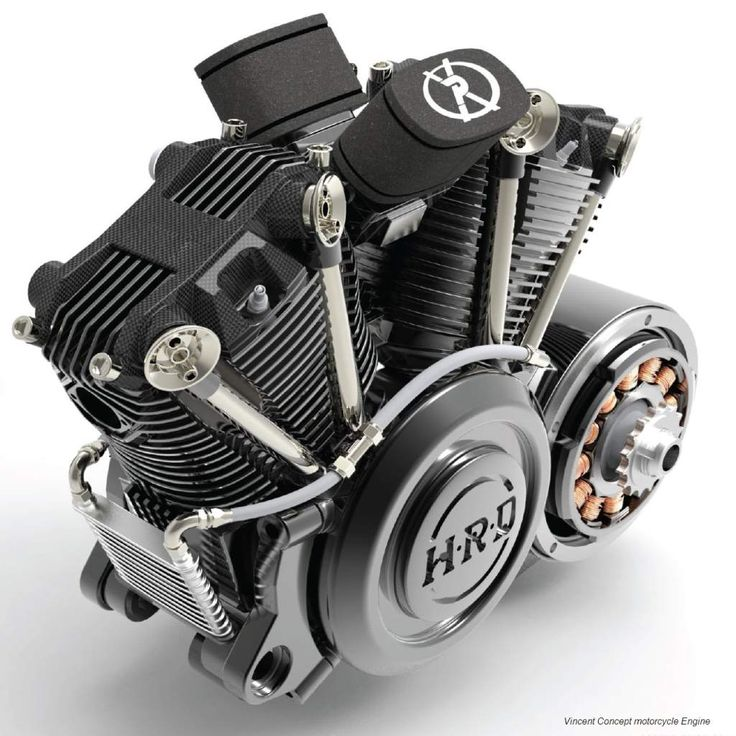 HRD Vincent Motorcycle Concept Engine