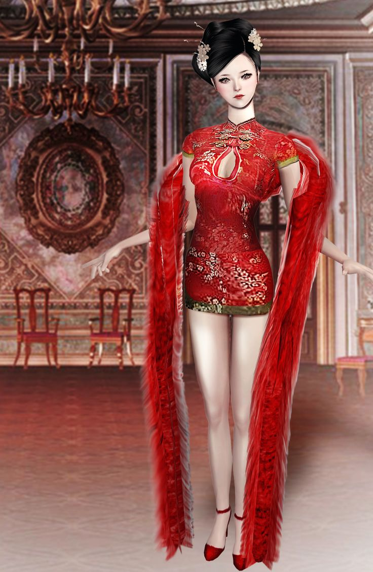 Asian sims 2 chinese costume 195 pinterest bjsims chinese hot dress download voltagebd Gallery