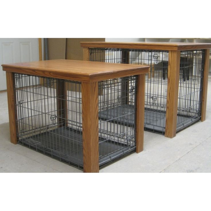 Best 25 dog crate table ideas on pinterest dog crate furniture dog crate and puppy cage Wooden crates furniture