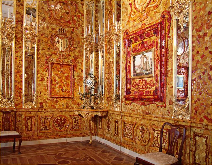 Catherine Palace's Amber Room