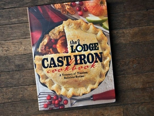 """""""The Lodge Cast Iron Cookbook,"""" compiled and edited by Pam Hoenig, features simple American-inspired recipes and warm photography."""
