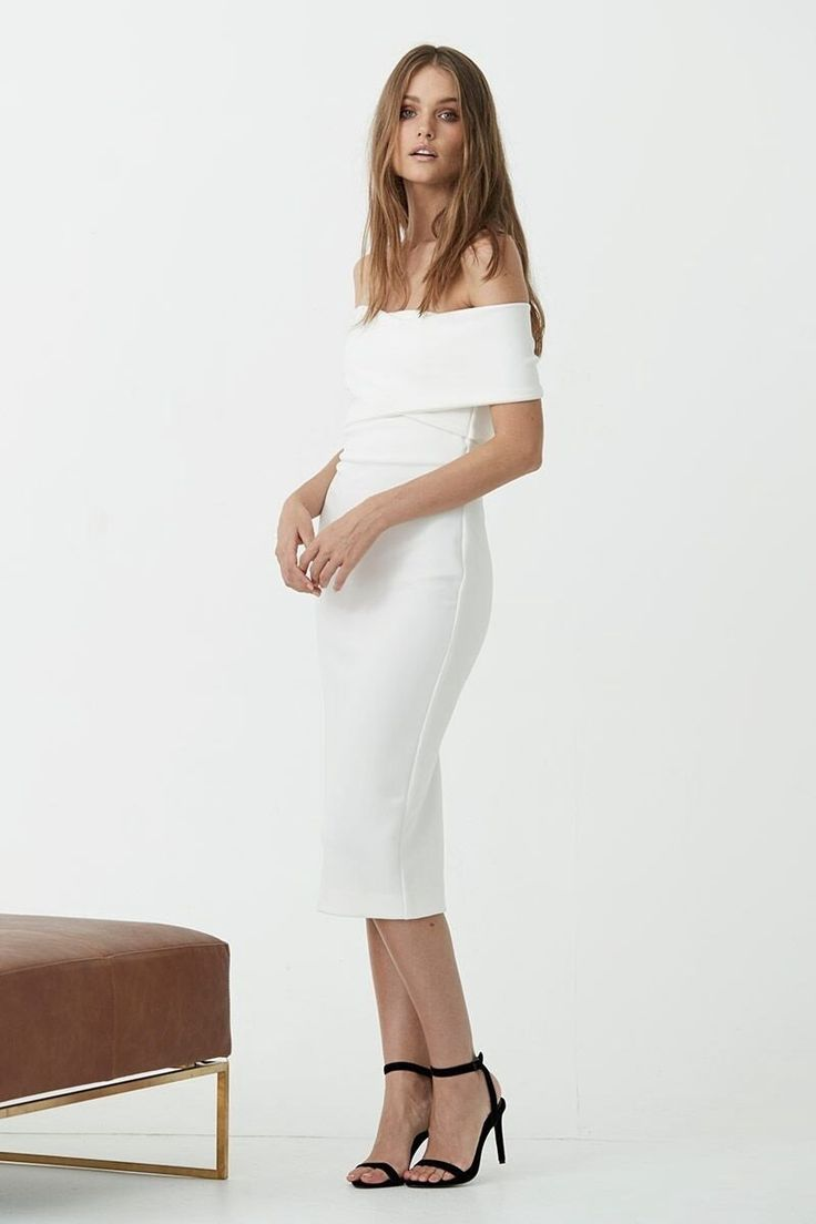 Maurie & Eve - Dream On Dress White