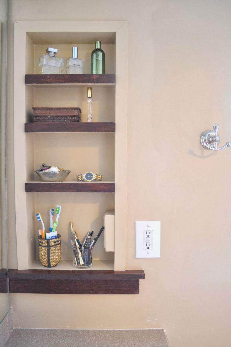 Bathroom Niche Shelves 94 best bathroom niches, shelving & storage images on pinterest