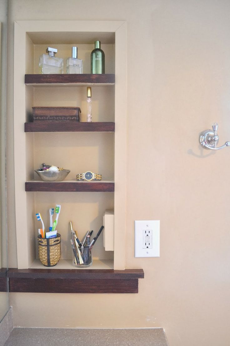 94 Best Images About Bathroom Niches Shelving Storage On Pinterest Traditional Bathroom
