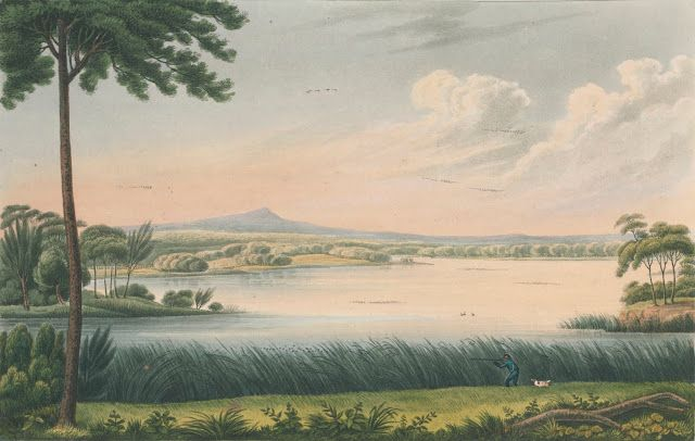 Lake Patterson, near Patterson's Plains, Hunter River, New South Wales (1824)