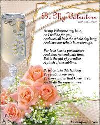 Be My Valentine… Love Poem