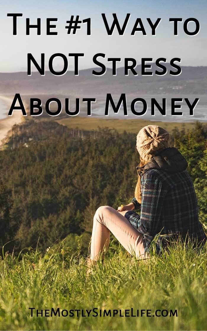 The #1 Way to NOT Stress About Money | Best Budgeting Tips | Personal Finance | Savings | Emergency Fund | Budget | Pin now and save for when you need it!