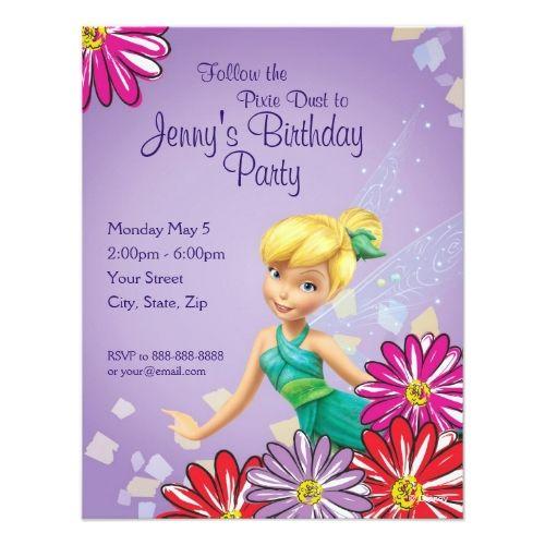68 best Disney Girls Birthday Party Invitations images on Pinterest