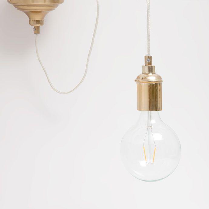 Imagen 4 del producto Aplique de techo dorado