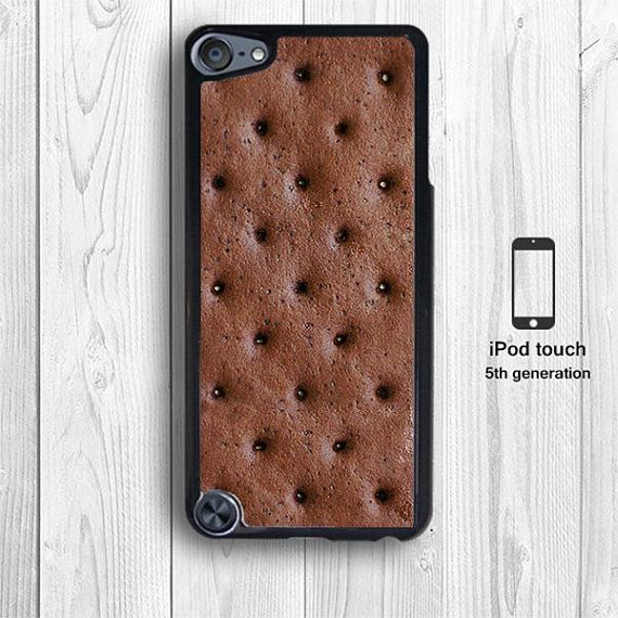 Ice cream Sandwich iPod touch 5G Case, creative iPod touch 5th generation iphone 5 Case 4S Nexus 4 Galaxy S4 Black White Cover --000010 on Etsy, $9.99