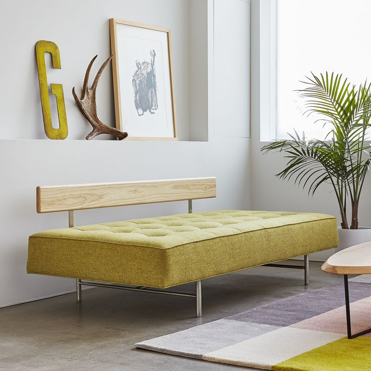 Bedford Lounge - Bayview Dandelion | The Bedford Lounge is a unique and versatile design that is ideal for small spaces. | Gus* Modern