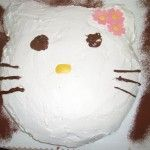 Torta compleanno Hello Kitty