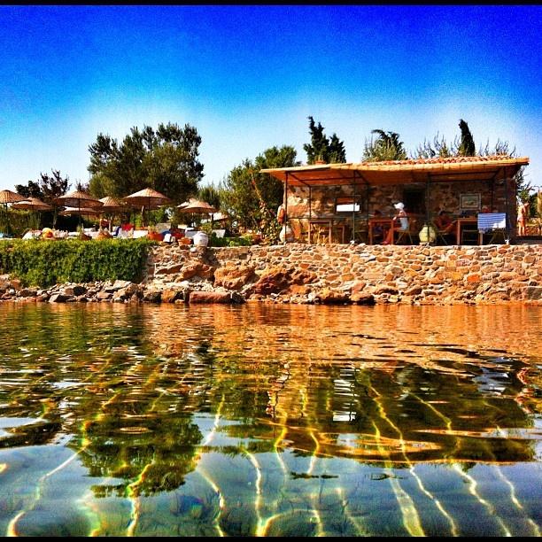 love summer, amazing sea in Turkey, Cunda Aegean region of Turkiye!