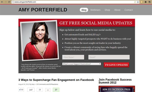Amy Porterfield Opt In