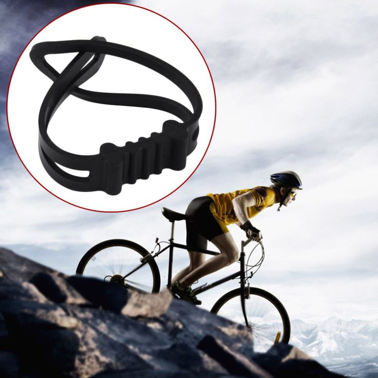 Universal Silicone Bicycle Flashlight Tie Strap Portable Phone Torch Light Holder Cycling Accessories Hot Search