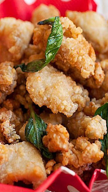 Taiwanese Salt & Pepper Chicken