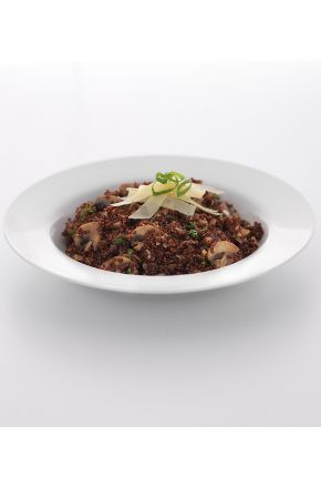 Quinoa Risotto with Mushrooms - yum as!