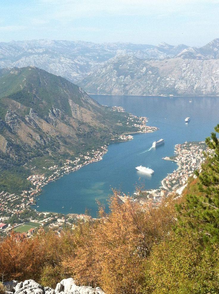 Mutkaista tietä Montenegroon (Dubrovnik 2012)