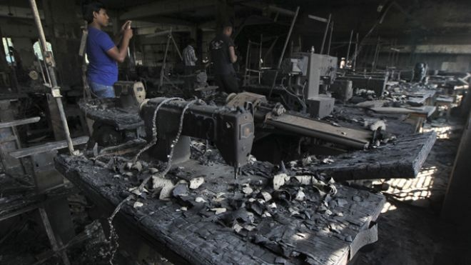 Disney, Sears, Walmart clothes made at Bangladeshi factory where fire killed 112