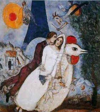 marriage. #Marc-Chagall #Marcchagall #MarcChagall