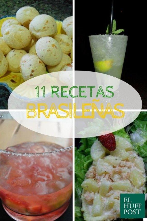 Once recetas brasileñas para alargar el sabor de los Juegos Olímpicos