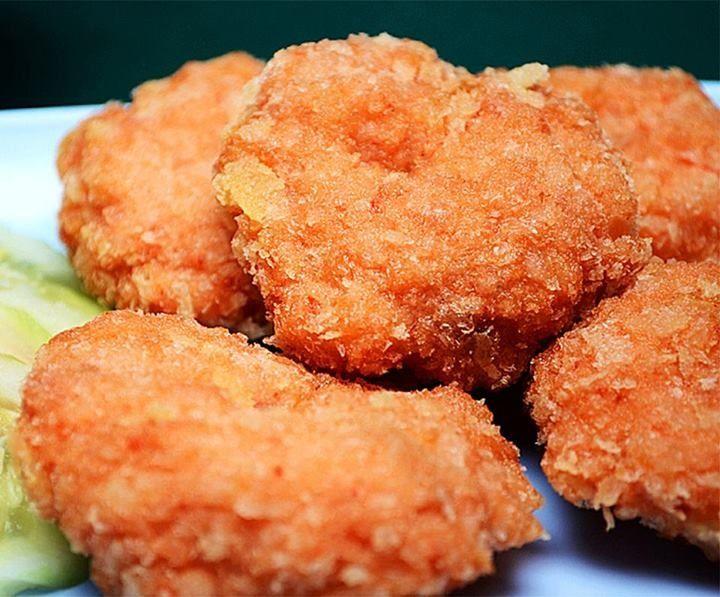 Deep Fried Shrimp Cakes | Seafood | Pinterest
