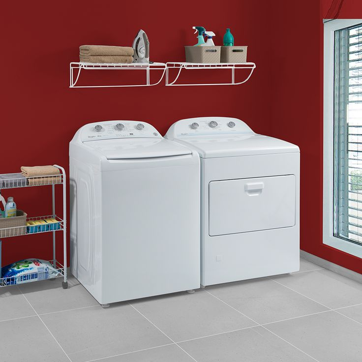 Combo de lavadora y secadora Whirlpool, que facilitarán tus tareas del hogar.