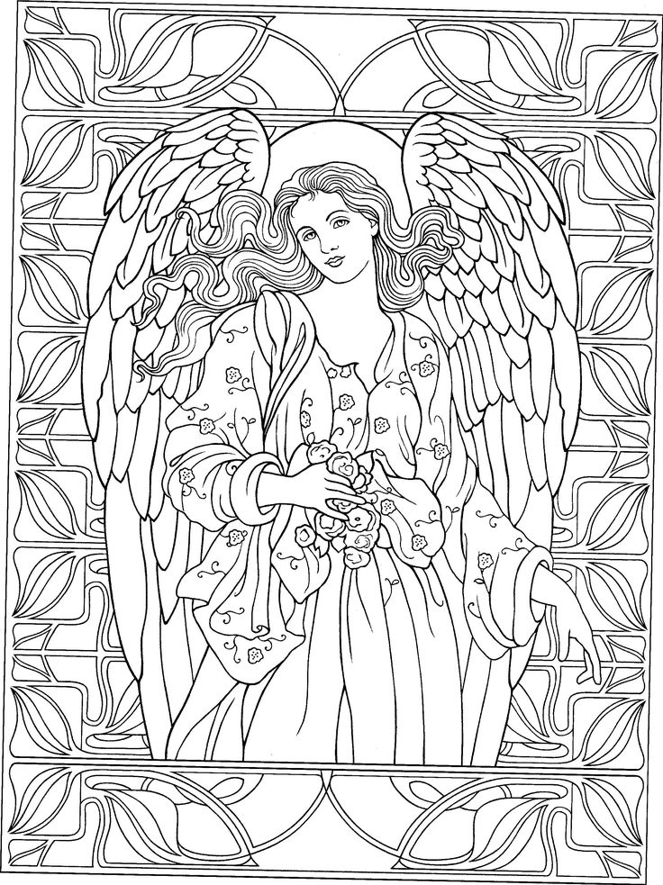 437 best Adult Colouring~Fairies~Angels images on ...