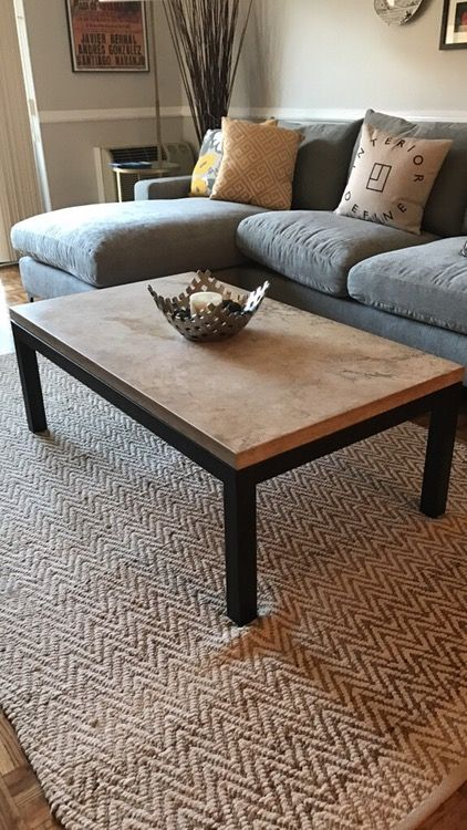 Crate And Barrel Parsons Rectangular Coffee Table