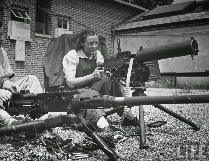 machine gun everyday