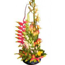 Ramo FUENTE FLORAL - Precio $243,600   Consiga los más exclusivos Arreglos Florales de Bogotá en http://www.BodegonDeLasFlores.com