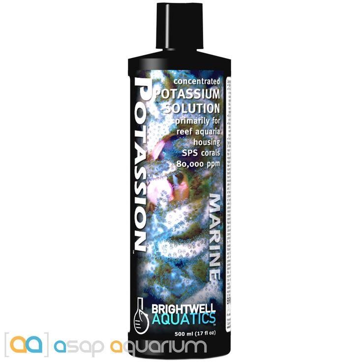 Brightwell Aquatics Potassion 500 mL Concentrated Liquid Potassium for SPS Coral