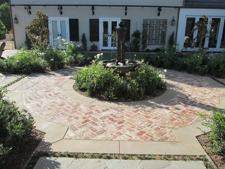 how to clean mildew from brick patio