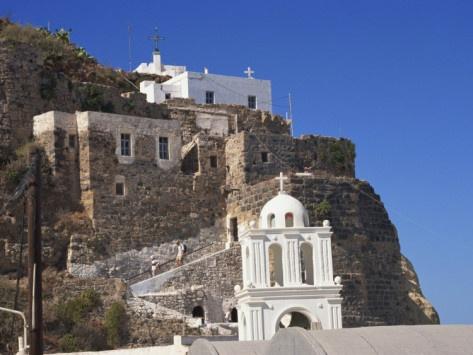 Castle Mandraki, Nissyros, Greek Islands, Greece