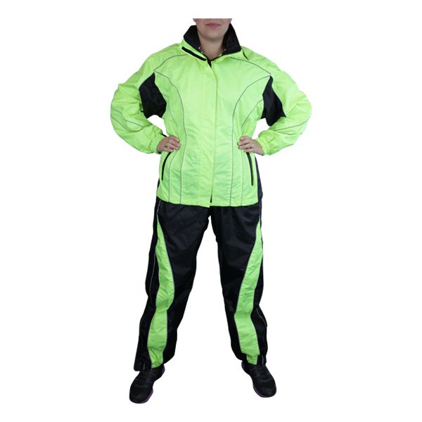 Women's Two Piece Motorcycle Rain Suits