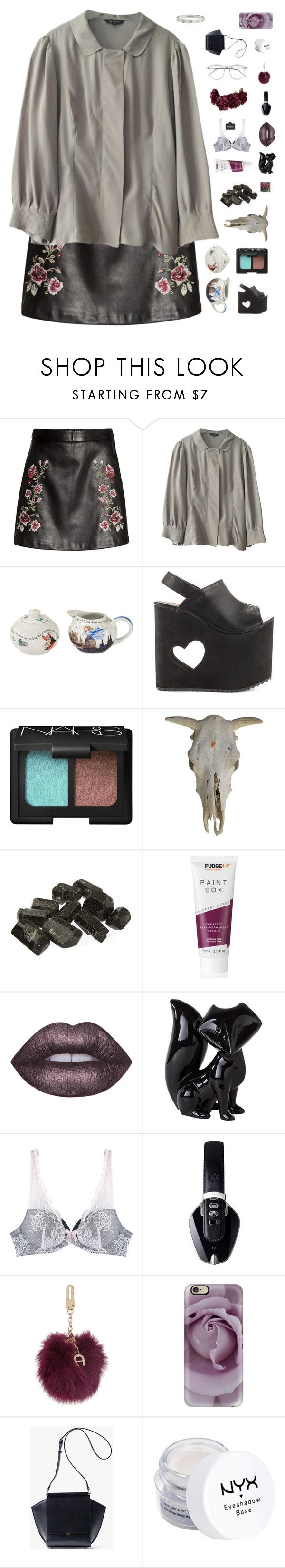 """""""♡ you're always gonna fly away , just because you know you can"""" by wont-stop-loving-queen-rydel ❤ liked on Polyvore featuring Tara Jarmon, Cardew Design, Y.R.U., NARS Cosmetics, Lime Crime, Dot & Bo, Christian Lacroix, Pryma, Etienne Aigner and Casetify"""