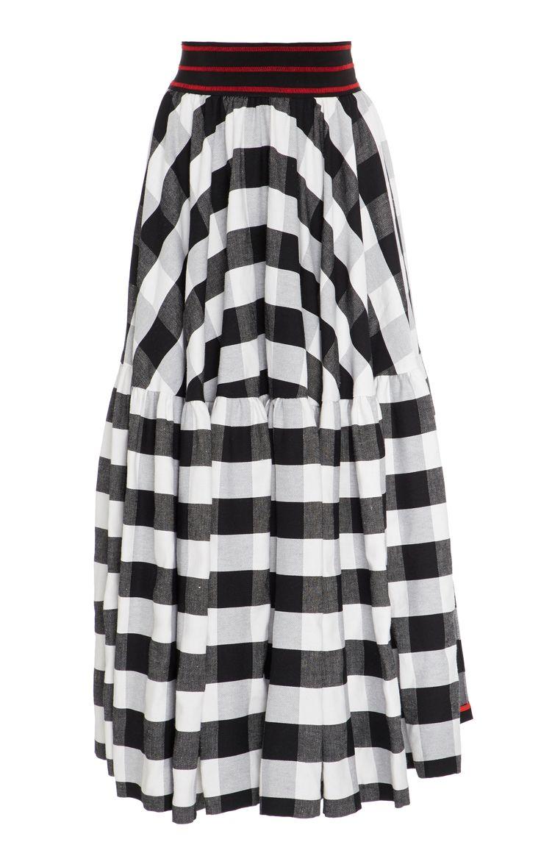 Smarteez Checkered A-Line Skirt