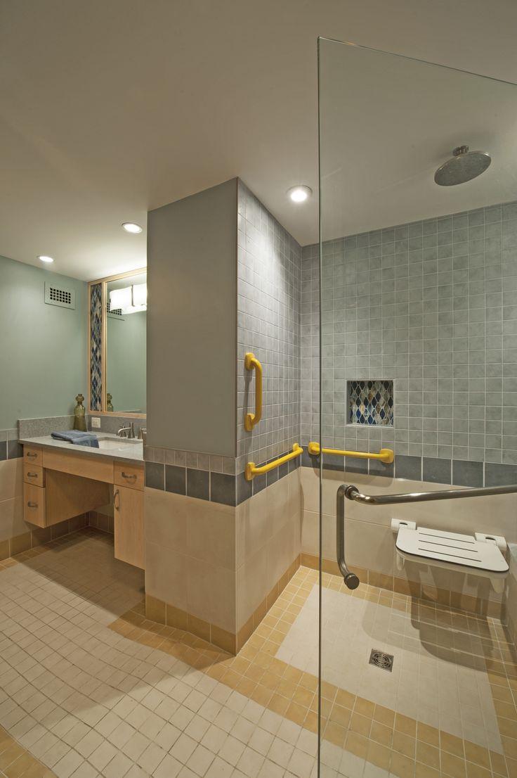 Images On Handicap Bath Tubs And Showers Handicap Showers ADA Barrier Free Shower Doors