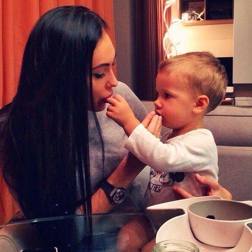 Megan Fox And Her Baby Boy