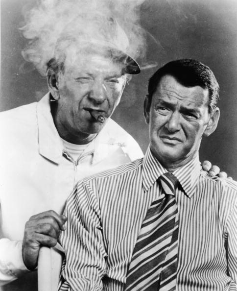 Jack Klugman with Tony Randal