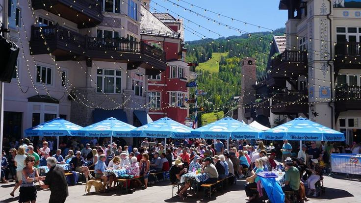 #Oktoberfest in Vail & Lionshead! Festivities included Hacker-Pschorr Beer, Bavarian music and dancing, traditional fare, yodeling, alpenhorn blowing, and more! www.RonByrne.com