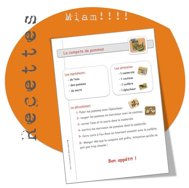 9 recettes de cuisine...avec ma classe.