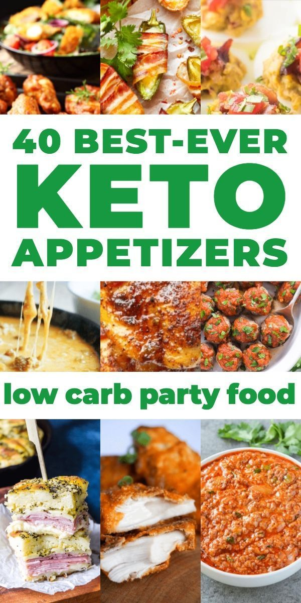 40 Best Keto Appetizer Recipes My Favorite Low Carb Appetizers On The Ketogenic Diet Whether You In 2020 Appetizer Recipes Healthy Low Carb Recipes Ketogenic Recipes