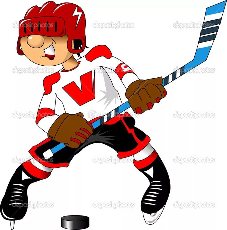 Vintage hockey vector